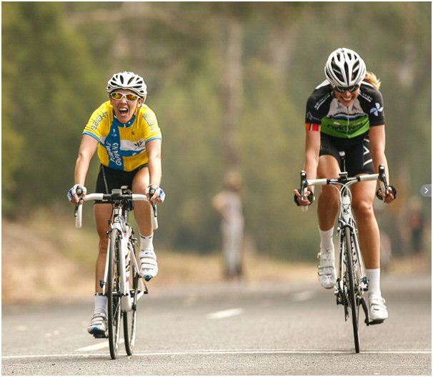 Sam Abbot narrowly wins stage 2 of the Tour of East Gippsland