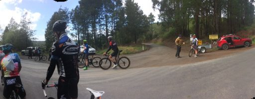 Warragul Hill Climb Champs won by Hauxwell