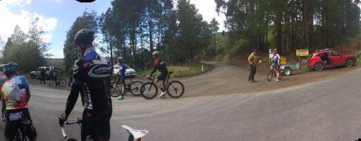 Warragul Hill Climb Champs won by Hauxwell